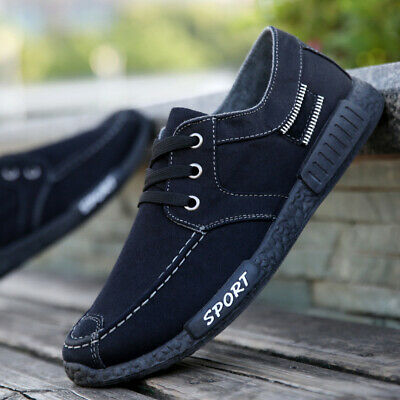 2019 Fashion Spring Men's Canvas Water-washed Cloth Leisure Summer Sports Shoes
