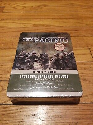 New Sealed The Pacific - The Complete Series DVD HBO Miniseries Tin Rare