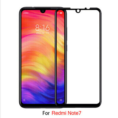 For Xiaomi Redmi Note 7 Full Cover 9D Curved Tempered Glass Screen Protector FA