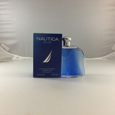Nautica Blue Men's Cologne - 3.3 / 3.4 oz / 100 ml EDT Spray New In Box