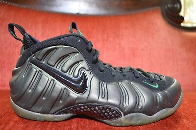 a942a8c0b19 CLEAN 624041-301 Nike Air Foamposite Pro Pine Green Black Size 9.5 OG ALL
