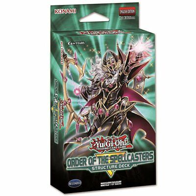 YUGIOH TCG Order of the Spellcasters Structure Deck