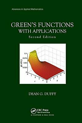 Green S Functions With Applications, Duffy 9781138894464 Fast Free Shipping..