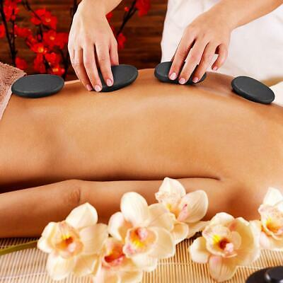 8pc Hot Spa Lava Volcanic Rock Basalt Massage Therapy Stone Natural Energy B0Y9