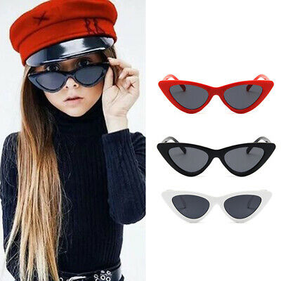Cat Eye Kids Sunglasses Child Sun Glasses Anti-uv Sun-shading Boy Girl Sunglass