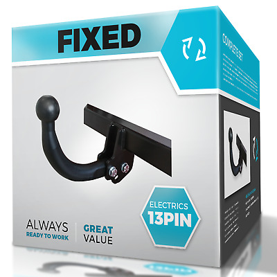 SKODA SUPERB 2008-2015 3T Hatchback Swan Neck Tow Bar with Electric Kit 13Pin