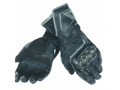 Motorcycle Gloves Woman Dainese CARBON D1 LONG Black - XS