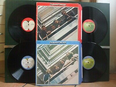 THE BEATLES 1962/1987 + 1967/1970 = 4 LPs