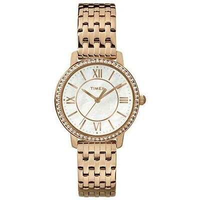bdb998ad689b TIMEX Reloj Pulsera Mujer Women s Collection TW2P80700 Acero Oro Rosa  original