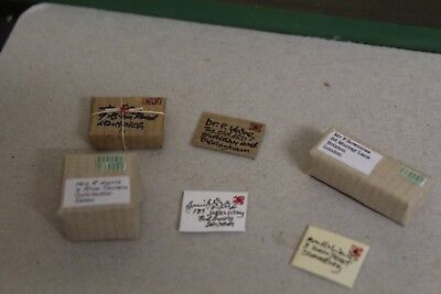 Dolls House Miniature 1//12th Scale Post Room Parcels and Letters Set D242