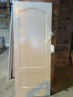 LPD Kent 2 Panel Smooth Arched Top Internal Door