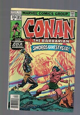 Marvel Comic Conan the Barbarian no 85 April 1978  35c USA