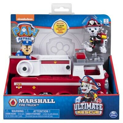 Paw Patrol Ultimate Rescue Themed Vehicle - Marshall Fire Truck