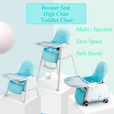 3 in 1 Baby Infant Highchair Dining High Chair Sturdy Child Eating Feeding Seat