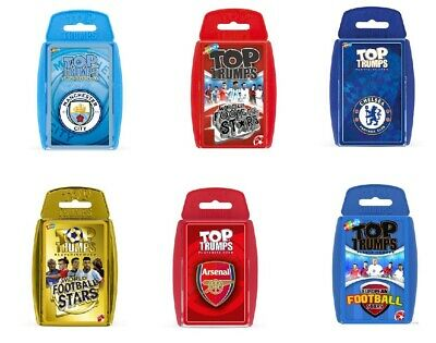 Top Trumps Educational Fun Card Games - Football - Arsenal - Chelsea - Man City