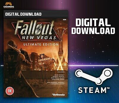 Fallout New Vegas Ultimate Edition [PC] (2010) STEAM DOWNLOAD KEY 🎮🔑