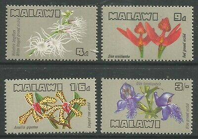 STAMPS-MALAWI. 1969. Malawi Orchids Set. SG 329/32. Mint Never Hinged.