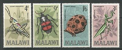 STAMPS-MALAWI. 1969. Insects of Malawi Set. SG 345/48. Mint Never Hinged.