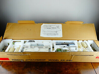 Brother Knitting Machine Ribbing Attachment KR-850 Complete and Boxed