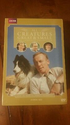 All Creatures Great & Small The Complete Collection (DVD, 2010, 28-Disc Set)