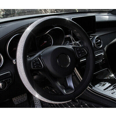 Car Van Steering Wheel Cover Sleeve Glove - Universal Fit Suitable for Most Cars