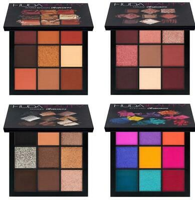 2018 Huda Beauty Obsessions Eyeshadow Palette Mauve Smokey Warm Brown & Electric