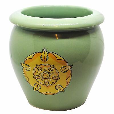 Game of Thrones House Tyrell Ceramic Planter   Golden Blossom on Green Field