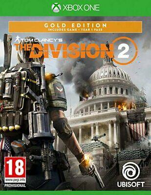 Tom Clancy's The Division 2 Gold Edition (Xbox One)  NEW AND SEALED - IN STOCK