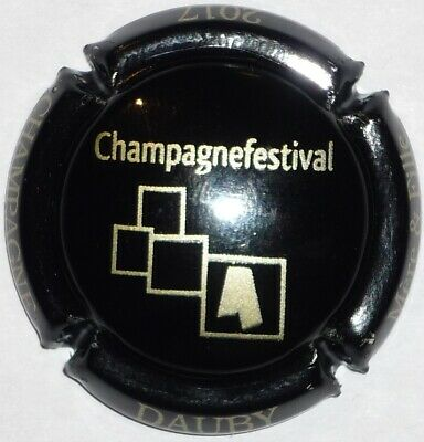 Capsule de Champagne : Extra !!! DAUBY , Champagne Festival 2017 , n°24