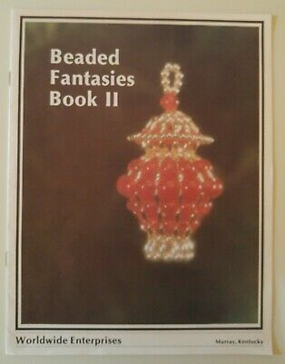 Vintage Craft Pattern BEADED FANTASIES BOOK II Bead Ornaments Shirley Do Carmo