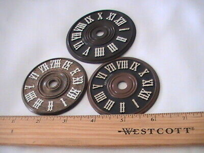 Vintage cockoo clock plastic brown dials with white roman numerals