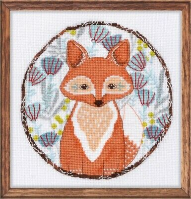 Oven Counted Cross Stitch Kit - Little Fox 957