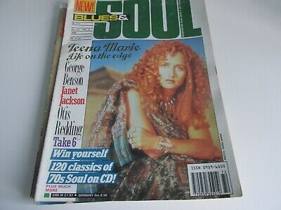 blues and soul magazine issue 572 oct 1990