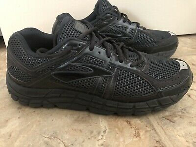 201733c6334 Brooks 12 Addiction Tennis Shoes Mens Size 11.5 4EEEE Extra Wide Black 4E