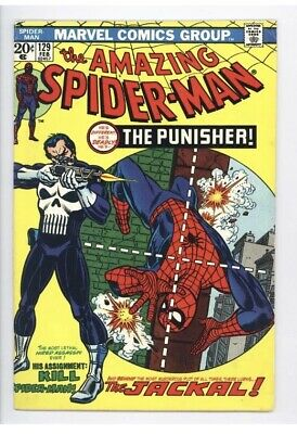 Amazing Spider-Man #129 Vol 1 Near Perfect High Grade 1st Apperance The Punisher