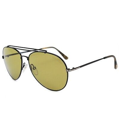 d371b25201 TOM FORD SUNGLASSES 0497 Indiana 28H Shiny Rose Gold Brown Polarized ...