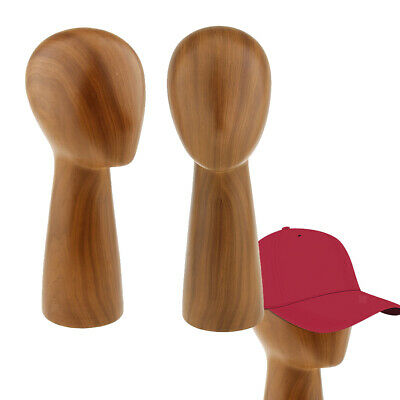 2pcs Professional Mannequin Head Hair Wigs Caps Hat Display Holder Stand