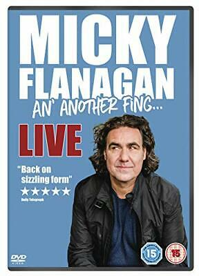 Micky Flanagan - An' Another Fing Live DVD (2017)