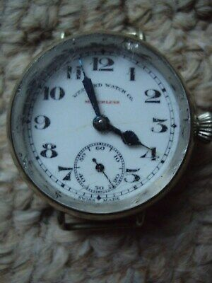 Vintage Gents West End Watch Co.,matchless Sub Second Manual Wind Watch
