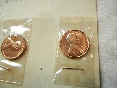 1960 P&D Lincoln memorial Cents LARGE & SMALL DATE