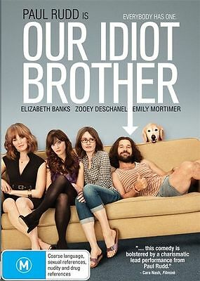 Our Idiot Brother (DVD, 2012) Paul Rudd Brand New & Sealed Region 4