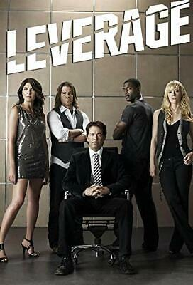 LEVERAGE 1-5 (2008-2012): COMPLETE Cons Drama TV Season Series - NEW Au Rg4 DVD