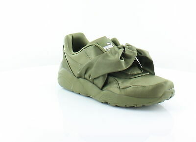 detailed pictures 082a3 1f517 FENTY PUMA BY Rihanna Bow Sneaker Green Womens Shoes 7.5 M Fashion Sneakers