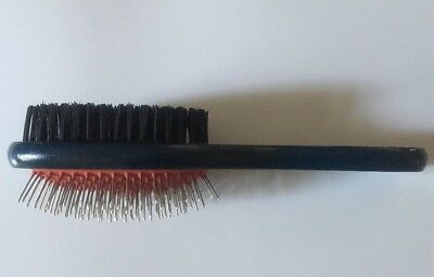 Double Sided Pet Grooming Wooden Brush Dog Hair Fur Shedding Tool Comb Lot of 48