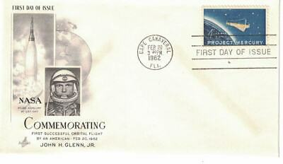 1962-1971 FDCs, #1193, 1371, 1434a, C76, Space Covers with cachets