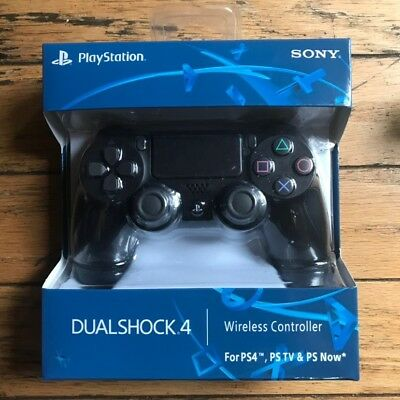 NEW Playstation 4 PS4 Wireless Controller BLACK with FREE CABLE CHARGER!