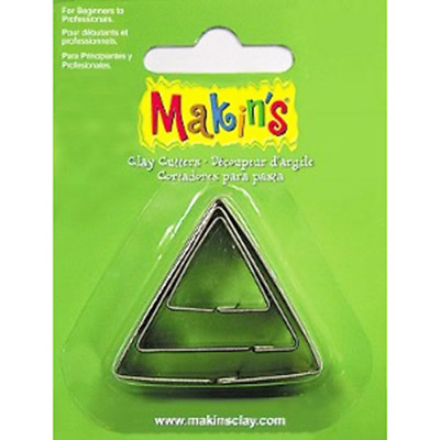 Makins Clay & Cookie Cutters -TRIANGLE (Set of 3) cake Fondant