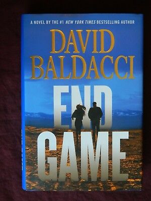 End Game by David Baldacci 1st Edition, 1st Print, Hardcover, 2017