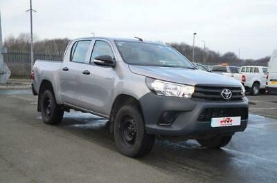 2016 TOYOTA Hilux 2.4 Euro 6 Double Cab Active NEW SHAPE DIESEL MANUAL