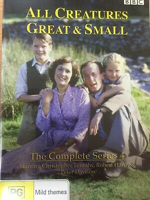 ALL CREATURES GREAT & SMALL - Series 4 3 x DVD Set AS NEW! Fourth Season Four